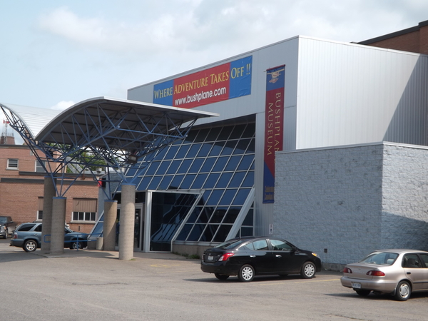 Muzeul de aviatie Bushplane Museum din Sault Sainte Marie, Ontario, Canada